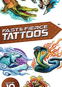 Fast & Fierce Boy 2 Tattoos - Vending Tattoo Refill