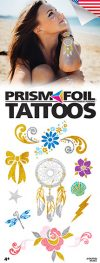 PrismFoil Tattoos - Vending Tattoo Refill