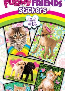 Furry Friends Stickers 3 - Vending Sticker Refill
