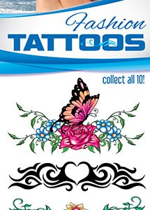 Lower Back/Fashion Tattoos 2 - Vending Tattoo Refill