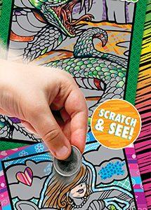 Magic Art Scratchers 2 - Vending Sticker Refill
