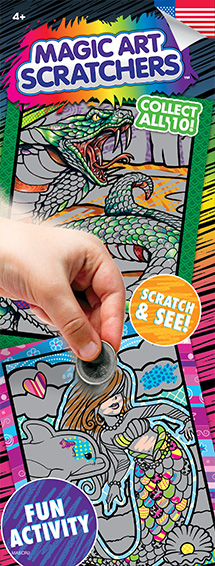 Magic Art Scratchers 2 - Vending Sticker Refill
