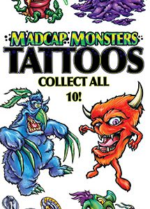 Madcap Monsters Tattoos - Vending Tattoo Refill