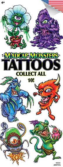 Madcap Monsters Tattoos - Vending Tattoo Refill