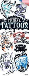 Twisted Tribal #2 Tattoos - Vending Tattoo Refill