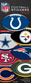 NFL Football Prismatic Stickers-Sticker Machine Refill