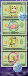 SpongeBob SquarePants Money Prismatic Stickers