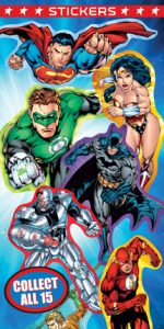 DC Superhero Stickers - Vending Sticker Refill