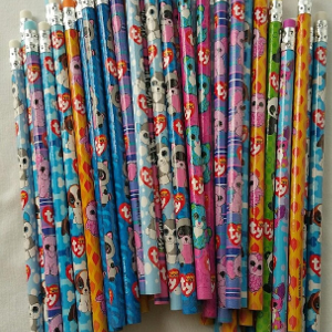 Ty Beanie Boo Assorted #2 Wood Pencils