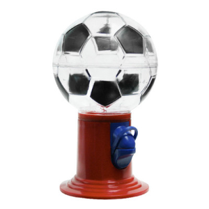 "9"" Sports Soccer Candy-Gumball Bulk Dispenser"