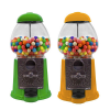 "9"" Metal-Glass Gumball-Candy Bulk Vending Machine"
