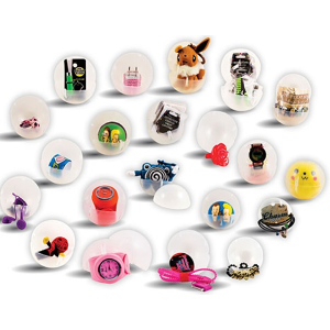 Basic Kit - In 3 Inch Toy Filled Round Capsules