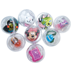 Giant Stacker Kit 144 Pieces-3 Inch Toy Filled Round Capsules