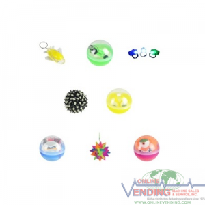 2.75 Inch Toy Filled Glow Kit in Round Capsules. Cost per each 1.57