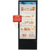 Royal Vendors Model RVZFH-027 Health Timer Glass Door Freezer