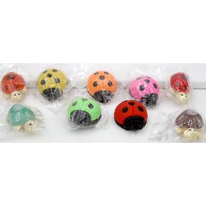 Beetle - Turtle Eraser Mix 48 Count