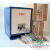 Pen Machine+Two Boxes Assort. Tubed Pens Package Deal