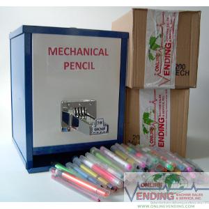 Mechanical Pencil Machine+2 Boxes Assort. Mech. Pencils Package Deal