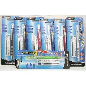 Aero Tri-Angle Mechanical Pencils 24 Count