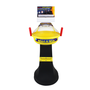 Interactive Skill Challenge Coin Funnel Vortex Wishing Well