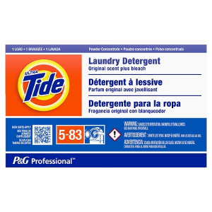 Ultra Tide With Bleach 1 Load Ultra Laundry Detergent