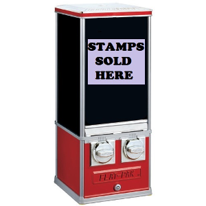 Postal Stamp Postage Vending Machine Dispenser