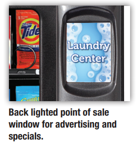 Back Lighted Point of Sale