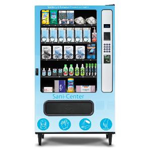 Sani-Center Plus PPE Glass Front Vending Machine